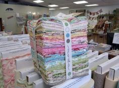 Moda Hunky Dorey Collection.  I made my very first quilt from this beautiful combination of prints!