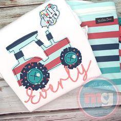 Applique Designs, Embroidery Applique, Tractors, Monogram, Phone Cases, Monograms