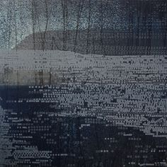 Etching Print/ Landscape by Elvia Perrin