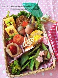 Totoro Pasta Bento トトロのパスタキャラベン  - Little Miss Bento