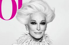 Carmen+de+la+fite+on+the+cover+of+Vogue | Carmen Dell'Orefice landed her first Vogue cover at age ... | Foxy La ...