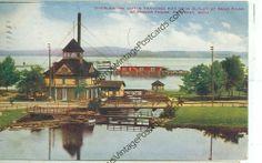 PETOSKEY, MICHIGAN LITTLE TRAVERSE BAY POWER HOUSE PM 1911(JL6-61)