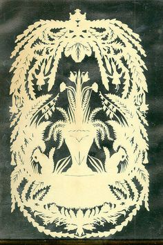 Victorian paper cutting