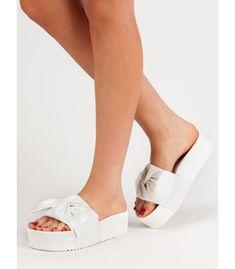 Semišové šľapky na platforme Heeled Mules, Platform, Slip On, Sandals, Heels, Sneakers, Queen, Fashion, Tennis Sneakers