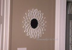 Mirror Frame Out of Toilet Paper Rolls--I'm pretty sure I'm going to have to try this!