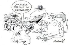 CNE: Una nueva especie depredadora - Asdrúbal