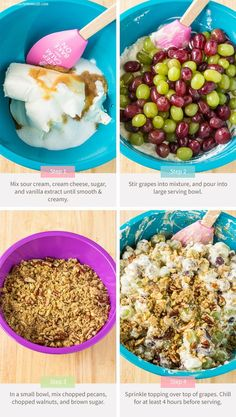 Pecan Crunch Grape Salad