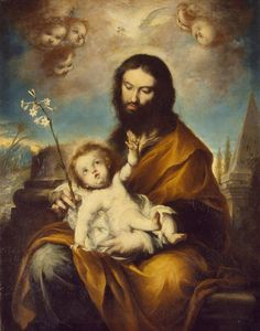 Torres Clemente -- St Joseph with the Infant Christ