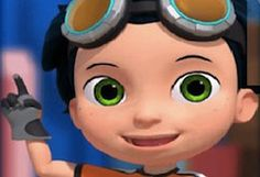 Coloring page Rusty Rivets rusty ruby Coloring pages