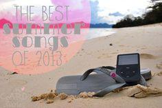Best Summer Songs of 2013