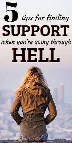 Here are 5 Tips for finding support when you're going through hell. Sometimes you just need a little emotional support and someone to lean on! Travel Tips Tips Travel Guide Hacks packing tour Abusive Relationship, Relationship Issues, Toxic Relationships, Healthy Relationships, Addiction Help, Addiction Recovery, Parenting Teenagers, Single Parenting, Loving An Addict