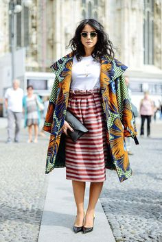 Absolutely Perfect Style Hunter Hits Milan Fashion Week: The Best Street Style Looks | Grazia Fashion