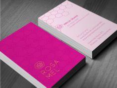 Cartão Rosa Mel
