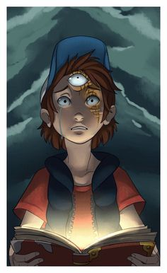 shadow-of-solace:  How far would you go for answers? Dipper what have you done… ^u^ More then a little excited for new Gravity Falls tonight~<3