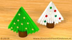 Kerstboom van papier en wc rol - Knutsels Voor Kinderen - Leuke Ideeën om te Knutselen met Duidelijke Uitleg Christmas To Do List, Christmas Crafts For Kids, Family Christmas, Easy Crafts, Diy And Crafts, Arts And Crafts, Handmade Christmas Decorations, Winter Activities, Creative Kids