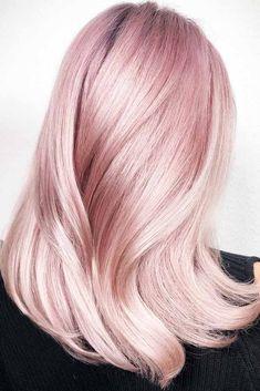 24 adorable Ideen, wie man Pastell Pink Hair abzieht 24 adorable ideas on how to peel pastel pink hair Pastell Pink Hair, Hair Color Pink, Cool Hair Color, Pastel Hair, Pale Pink Hair, White Hair, Long Pink Hair, Ombre Color, Hair Colors