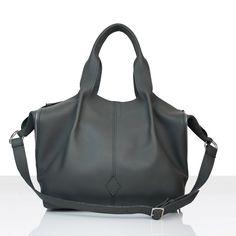Torba worek - tote bag,wykonana ze skóry naturalnej bydlęcej o strukturze Shopper Bag, Zipper Bags, Fashion, Moda, La Mode, Fasion, Fashion Models, Trendy Fashion