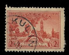 AUSTRALIA - 1936 - CDS OF KULIN (W.A.) ON 2d CARMINE SG161