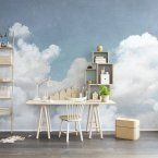 Wall Mural R14011 Cuddle Clouds image 2 by Rebel Walls