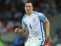 Manchester United's Phil Jones goes off injured in England friendly