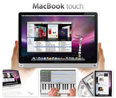 Mac Book touch concept introduce by apple