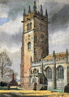 my wedding church; where my parents got married so will I. Scenery Paintings, Cool Paintings, Animal Paintings, Landscape Paintings, Landscapes, Watercolor City, Watercolor Paintings, Watercolours, Urban Painting
