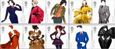 Great British Fashion Stamp Issue