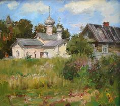 "Russian Landscape Paintings | Russian landscape""."
