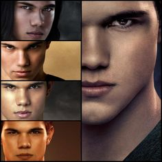 The Evolution of Jacob - Jacob Black (Taylor Lautner) - 'Twilight Saga' Twilight Jacob, Twilight Film, Twilight Saga Books, Twilight Cast, Twilight New Moon, Jacob And Bella, The Cullen, Edward Cullen, Breaking Dawn Part 2