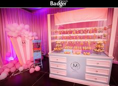 Donut and Popcorn Party Station debut at the Bridal Boudoir Affair 2013 by Maddy K exclusively available at Joe's Prop House • Draping by Joe's Prop House www.joesprophouse.com
