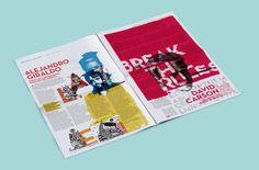 Designerds | Newspaper on Behance