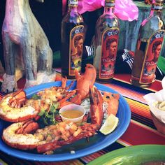 Yummy Lobster Specials only at Cafe Coyote Old Town San Diego