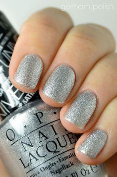OPI This Gown Needs a Crown  ~  we ❤ this! moncheribridals.com  #weddingnails