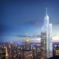 New York's future second-tallest skyscraper breaks ground.  We have an opportunity for an Architect run a London skyscraper project for an international design led practice. For more details and to apply please visit highlinerecruitment.com  #skyscraper #london #architecture #designjobs #design #tower #instapic #photooftheday #newyork