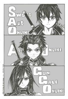 SAO, ALO, GGO??? WHATS THAT!? I HAVE A MIGHTY NEED!!