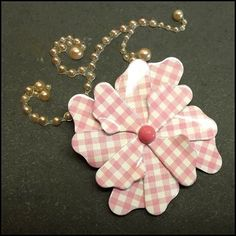 Flower Pin Pink Plaid Petal Brooch 1960s Vintage Jewelry   http://www.greatvintagejewelry.com/inc/sdetail/flower-pin-pink-plaid-petal-brooch-1960s-vintage-jewelry-/18542