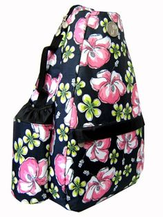 Hawaiian Delight Small Sling, also available in the Convertible style. Found at Life Is Tennis!