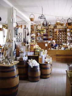 Colonial Williamsburg, VA. I LOVE this store. They have balls of homemade soap like Lavender and Lemon Verbena. They are AMAZING!!!