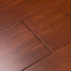 Cali Bamboo Fossilized Cognac Bamboo Engineered Hardwood Flooring ft) at Lowe's. Kick off your shoes and unwind from a long day with the rich crimson ambiance of Cognac Fossilized® engineered bamboo flooring. Engineered Bamboo Flooring, Bamboo Hardwood Flooring, Laminate Flooring, Flooring Ideas, Flooring Options, Flooring Types, Hardwood Floor Colors, Vinyl Flooring, Kitchen Flooring