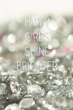 Happy girls shine brighter. #PANDORAloves