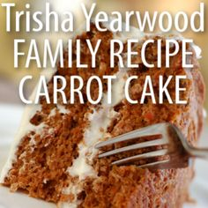 "Trisha Yearwood shared her family recipe for carrot cake and discussed her show, ""Trisha's Southern Kitchen,"" on Live With Kelly September 3."