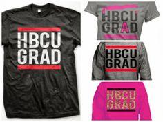 Fab Glance Fashion & Style: Just in time for homecoming . . . HBCU GRAD shirts!