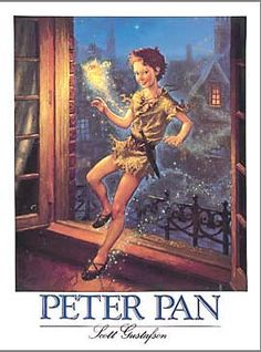 Peter Pan illustrated by Scott Gustafson