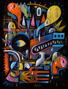 NIARK1 – HYSTERIA EXHIBITION (PARIS) #niark1 #hysteria #exhibition #paris #art #show #sergeantpaper #gallery