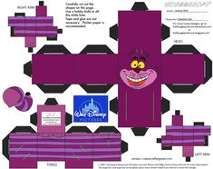 Dis19: Cheshire Cat Cubee by TheFlyingDachshund.deviantart.com on @deviantART