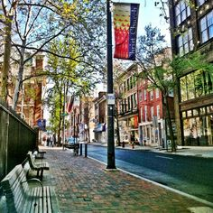 Old City, Philadelphia, PA - it's amazing how old the east is compared to the west