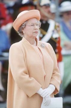 Elisabeth II fishing coat