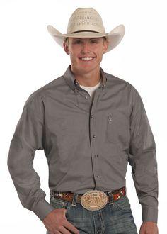 Panhandle Mens Tuf Cooper Wallpaper Shirt