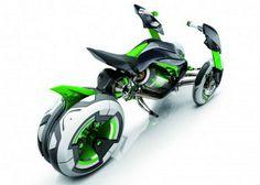 Kawasaki mostra moto futurista no Japão - motos - Jornal do Carro