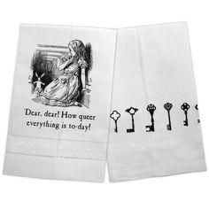 Alice, Dear Dear! Tea Towel